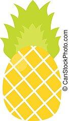 トロピカル, ananas, フルーツ