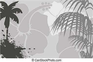 トロピカル, background6, ハワイ