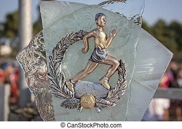 トロフィー, マラソン