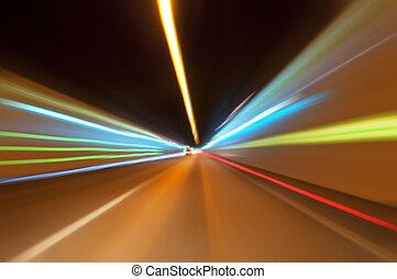 トンネル, 交通