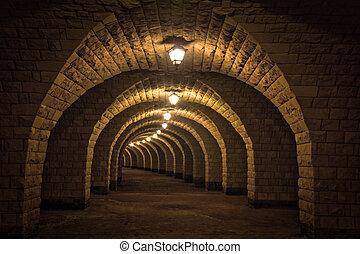 トンネル, 古代