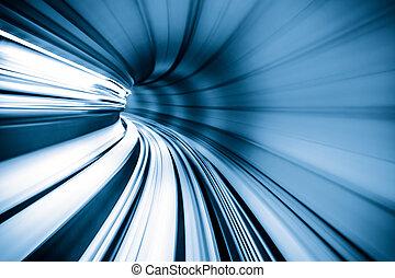 トンネル, 抽象的, 列車, 引っ越し