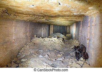 トンネル, 石, 私の, 採石場