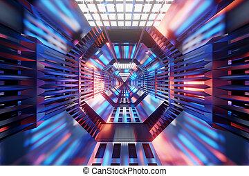 トンネル, scifi