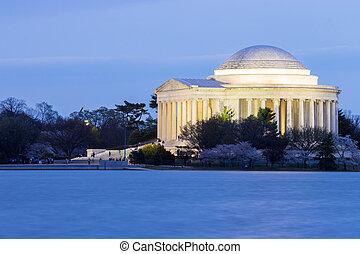 トーマス・ジェファーソン, 記念, ワシントン, dc