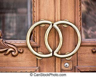 ドア, オフィス, 結婚式