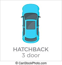 ドア, ハッチバック, 3