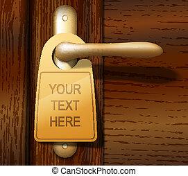 ドア, ハンガー