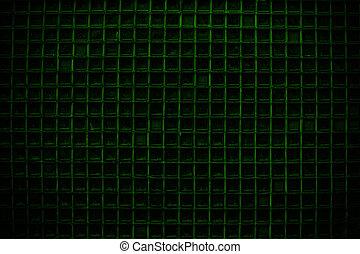 ドア, パターン, スクリーン, 細部, 手ざわり, 緑の背景, ∥あるいは∥