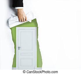 ドア, ページ