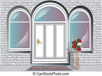 ドア, ポーチ