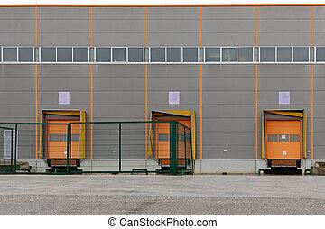 ドア, 分配倉庫