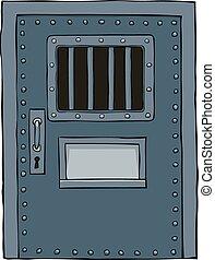 ドア, 刑務所