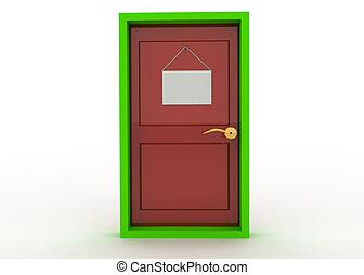 ドア, 印