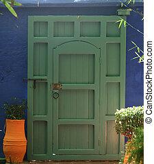 ドア, 庭