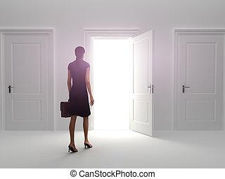 ドア, 成功