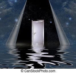ドア, 時間