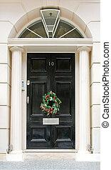 ドア, 花輪