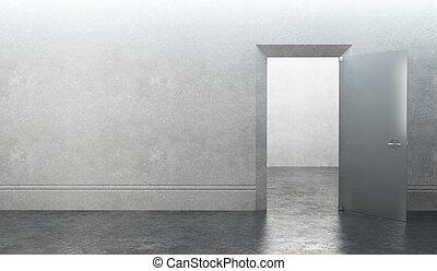 ドア, 部屋, 空