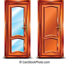 ドア, 閉じられた