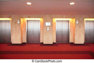 ドア, elevator`s