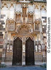 ドア, st. 。, elisabeth, スロバキア, kosice, 大聖堂, 飾られる