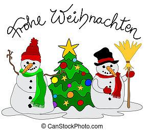 ドイツ語, クリスマスカード