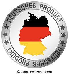 ドイツ語, ボタン, 品質, プロダクト, ラウンド
