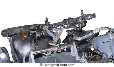 ドイツ語, 機械, 銃,  mg-34/42