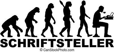 ドイツ語, 進化, 作家, マレ, タイプライター