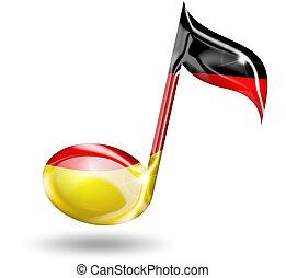 ドイツ語, 音楽