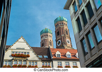 ドイツ, ミュンヘン, frauenkirche