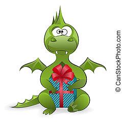 ドラゴン, ∥で∥, a, 贈り物