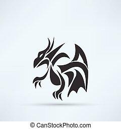 ドラゴン, アイコン
