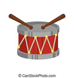 ドラム, おもちゃ, 子供