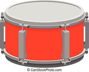 ドラム, アイコン, 罠, ベクトル