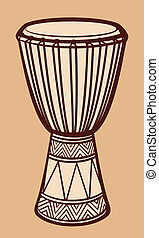 ドラム, アフリカ