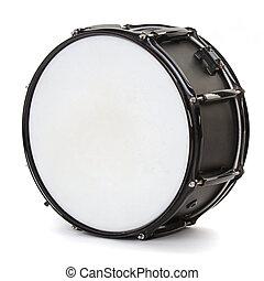 ドラム, 隔離された, 白, 背景