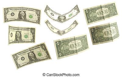 ドル, セット, 1(人・つ)