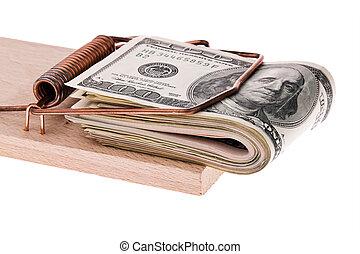 ドル, ビルズ, u.。s.。, mousetrap