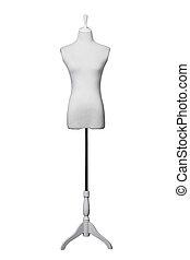 ドレスメーカー, 白, カバー, 生地, 形態