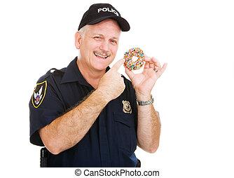 ドーナツ, 愛, 警官