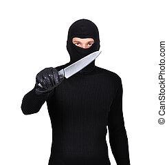 ナイフ, 人