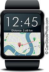 ナビゲーション, smartwatch