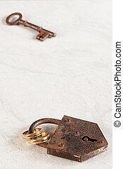 ナンキン錠, リング, キー, 結婚式
