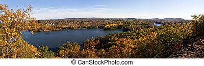 ニューイングランド, 群葉, 秋