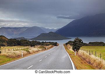 ニュージーランド, wakatipu, 湖