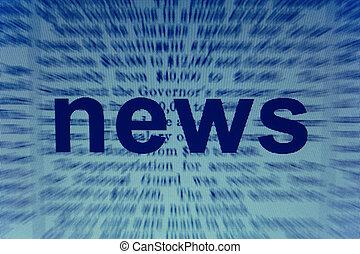 ニュース, 単語