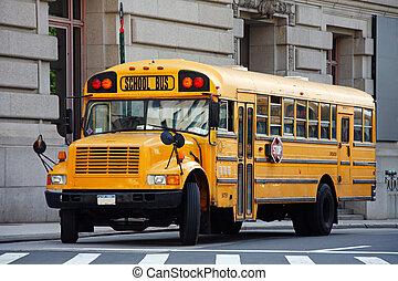 ニューヨークシティ, スクールバス