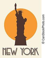 ニューヨーク, ポスター